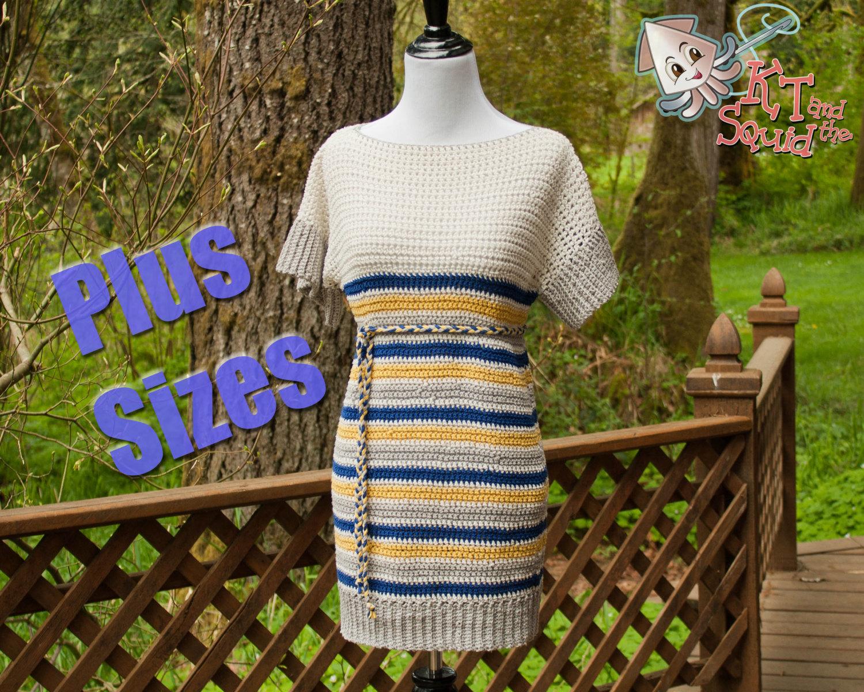Lily Tunic (plus size) - Crochet Pattern